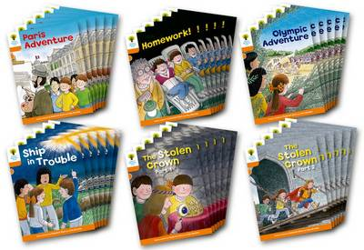 Oxford Reading Tree: Level 6: More Stories B: Class Pack of 36 - Oxford Reading Tree