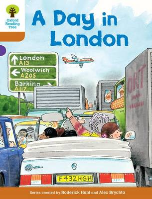 Oxford Reading Tree: Level 8: Stories: A Day in London - Oxford Reading Tree (Paperback)