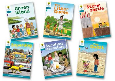 Oxford Reading Tree: Level 9: Stories: Pack of 6 - Oxford Reading Tree