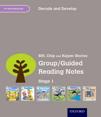 Oxford Reading Tree: Stage 1: Decode and Develop: Group/Guided Reading Notes (Paperback)