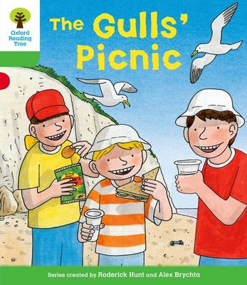 Oxford Reading Tree: Level 2: Decode and Develop: The Gull's Picnic - Oxford Reading Tree (Paperback)
