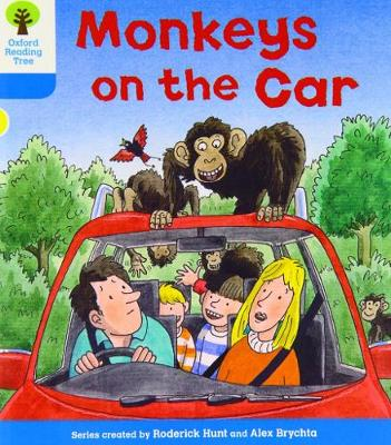 Oxford Reading Tree: Level 3: Decode and Develop: Monkeys on the Car - Oxford Reading Tree (Paperback)