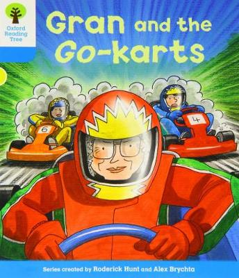 Oxford Reading Tree: Level 3: Decode and Develop: Gran and the Go-karts - Oxford Reading Tree (Paperback)