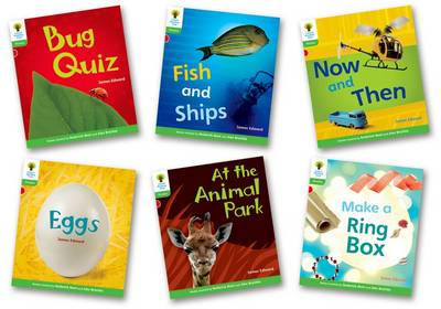 Oxford Reading Tree: Level 2: Floppy's Phonics Non-Fiction: Pack of 6 - Oxford Reading Tree
