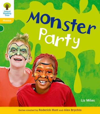 Oxford Reading Tree: Level 5: Floppy's Phonics Non-Fiction: Monster Party - Oxford Reading Tree (Paperback)