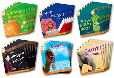 Oxford Reading Tree: Level 6: Floppy's Phonics Non-Fiction: Class Pack of 36 - Oxford Reading Tree