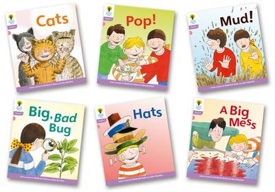 Oxford Reading Tree: Level 1+: Floppy's Phonics Fiction: Pack of 6 - Oxford Reading Tree