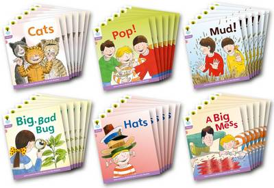 Oxford Reading Tree: Level 1+: Floppy's Phonics Fiction: Class Pack of 36 - Oxford Reading Tree