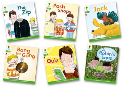 Oxford Reading Tree: Level 2: Floppy's Phonics Fiction: Pack of 6 - Oxford Reading Tree