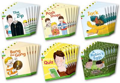 Oxford Reading Tree: Level 2: Floppy's Phonics Fiction: Class Pack of 36 - Oxford Reading Tree