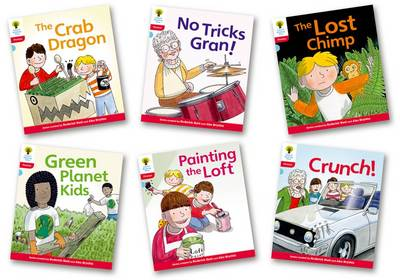 Oxford Reading Tree: Level 4: Floppy's Phonics Fiction: Pack of 6 - Oxford Reading Tree