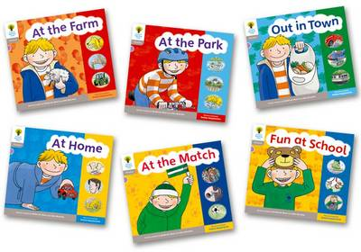 Oxford Reading Tree: Level 1: Floppy's Phonics: Sounds and Letters: Pack of 6 - Oxford Reading Tree