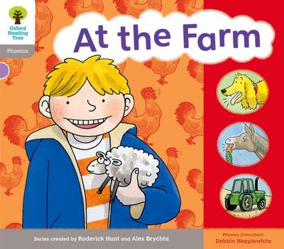 Oxford Reading Tree: Level 1: Floppy's Phonics: Sounds and Letters: At the Farm - Oxford Reading Tree (Paperback)
