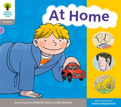 Oxford Reading Tree: Level 1: Floppy's Phonics: Sounds and Letters: At Home - Oxford Reading Tree (Paperback)