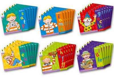 Oxford Reading Tree: Level 1+: Floppy's Phonics: Sounds and Letters: Class Pack of 36 - Oxford Reading Tree