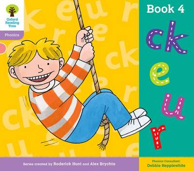 Oxford Reading Tree: Level 1+: Floppy's Phonics: Sounds and Letters: Book 4 - Oxford Reading Tree (Paperback)