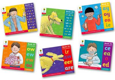 Oxford Reading Tree: Level 4: Floppy's Phonics: Sounds and Letters: Pack of 6 - Oxford Reading Tree
