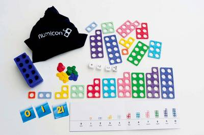 Numicon: Homework Activities Intervention Resource - 'Maths Bag' of resources per pupil - Numicon