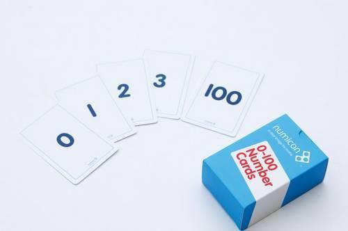 Numicon: 0-100 Numeral Cards - Numicon