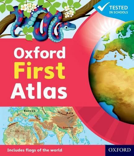 Oxford First Atlas (Paperback)