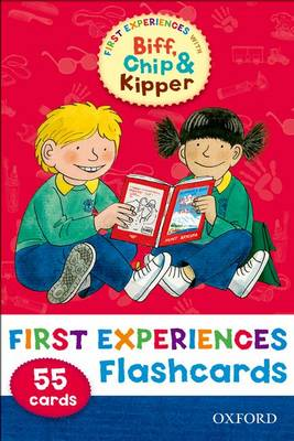 Oxford Reading Tree: Read with Biff, Chip & Kipper First Experiences Flashcards