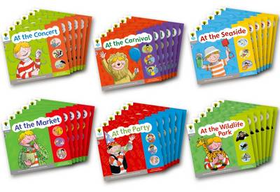 Oxford Reading Tree: Floppy Phonics Sounds & Letters Level 1 More a Class Pack of 36 - Oxford Reading Tree