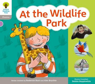 Oxford Reading Tree: Floppy Phonics Sounds & Letters Level 1 More a At the Wildlife Park - Oxford Reading Tree (Paperback)