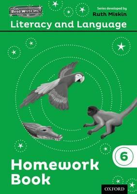 Read Write Inc.: Literacy & Language: Year 6 Homework Book Pack of 10 - Read Write Inc.