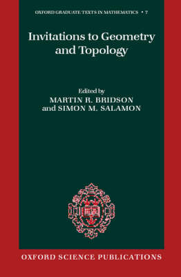 Invitations to Geometry and Topology - Oxford Graduate Texts in Mathematics 7 (Hardback)