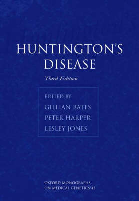 Huntington's Disease - Oxford Monographs on Medical Genetics 45 (Hardback)
