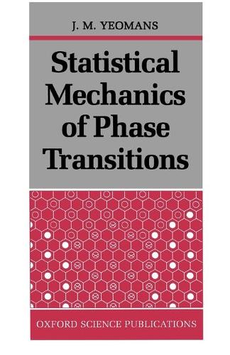 Statistical Mechanics of Phase Transitions (Paperback)