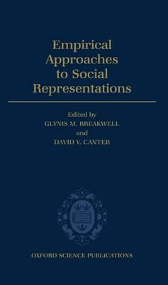 Empirical Approaches to Social Representations (Hardback)