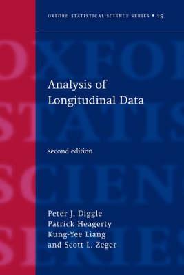 Analysis of Longitudinal Data - Oxford Statistical Science Series 25 (Hardback)