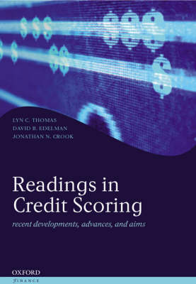 Readings in Credit Scoring: Foundations, Developments, and Aims - Oxford Finance Series (Hardback)