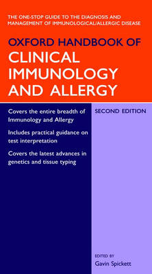 Oxford Handbook of Clinical Immunology and Allergy - Oxford Medical Handbooks (Paperback)