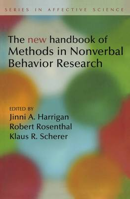 New Handbook of Methods in Nonverbal Behavior Research (Paperback)
