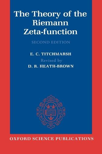 The Theory of the Riemann Zeta-Function (Paperback)