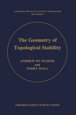 The Geometry of Topological Stability - London Mathematical Society Monographs 9 (Hardback)