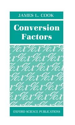Conversion Factors (Hardback)