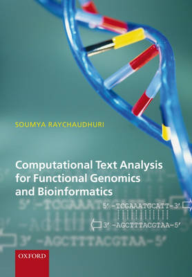 Computational Text Analysis: for functional genomics and bioinformatics (Hardback)