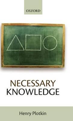 Necessary Knowledge (Hardback)