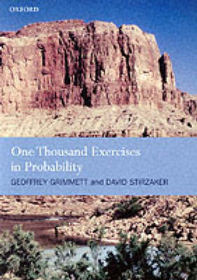 One Thousand Exercises in Probability (Paperback)