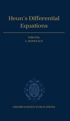 Heun's Differential Equations (Hardback)