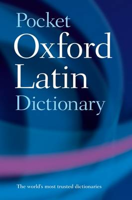 Pocket Oxford Latin Dictionary (Paperback)