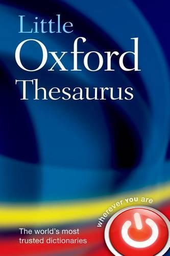 Little Oxford Thesaurus (Hardback)