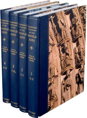 The Oxford Dictionary of the Middle Ages: 4 Volumes (Hardback)