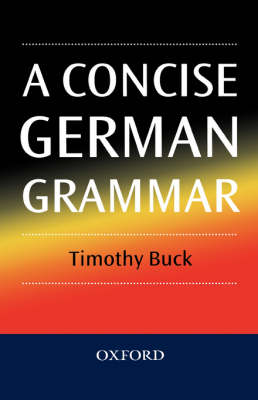 A Concise German Grammar (Hardback)