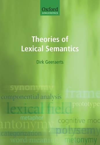 Theories of Lexical Semantics (Hardback)