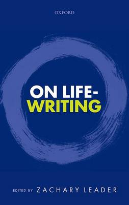 On Life-Writing (Hardback)