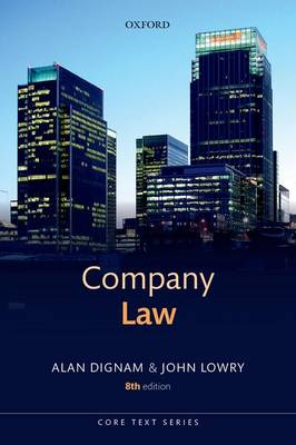 Company Law - Core Texts Series (Paperback)